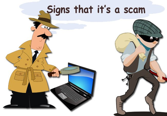 How to avoid internet scams