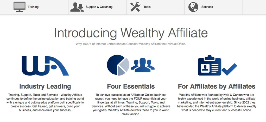 Wealthy Affiliate Introduction