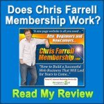 Does Chris Farrell Membership Work?