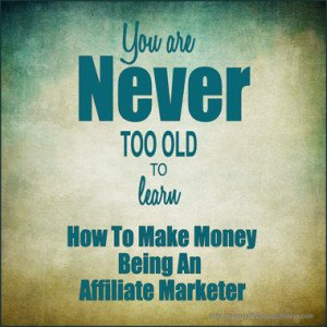 make money being an affiliate