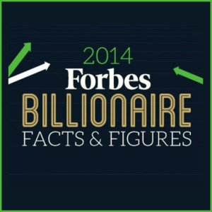 Top 10 Billionaires in 2014