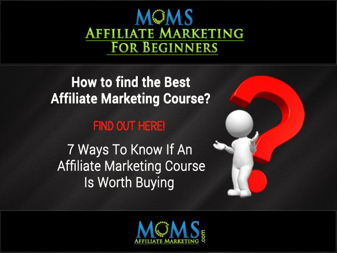 How To Find The Best Affiliate Marketing Course